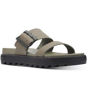 Sorel Roaming Buckle Slide On Sandals NEW